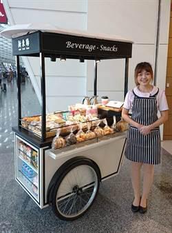 桃機一期航廈服務再升級 新東陽首部行動餐車登場