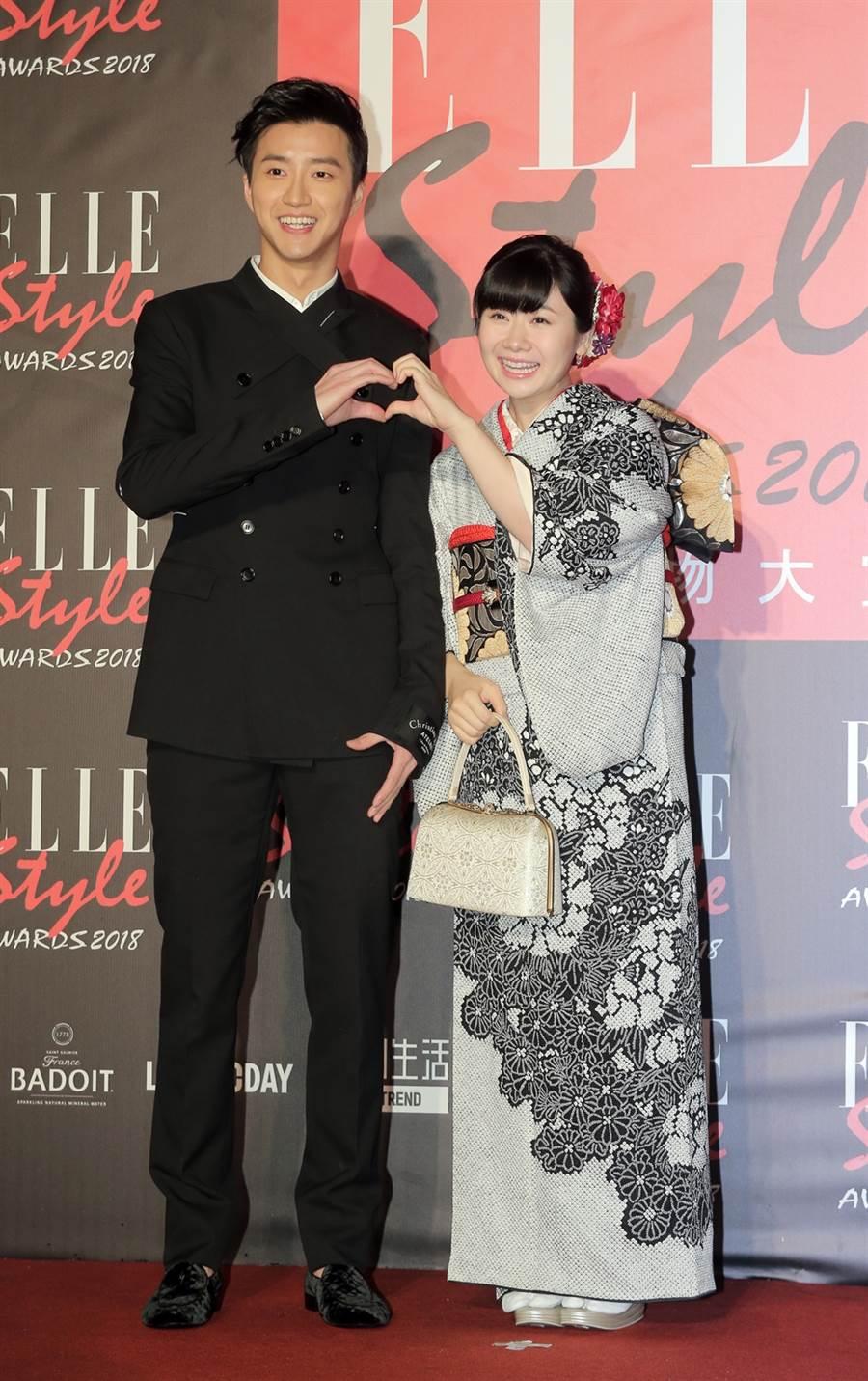 有網友指嫁來台灣的福原愛是幸福例子。(圖/中時資料照片)