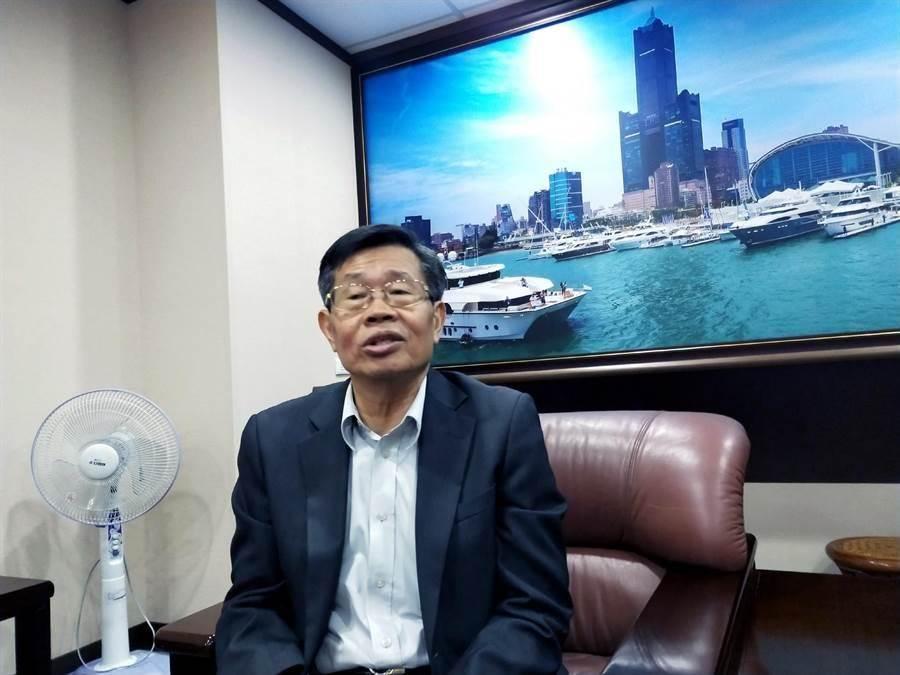 曾在陳菊時代擔任副市長、韓國瑜上任後轉任市府祕書長的楊明州,即起調任參事。(本報資料照片)
