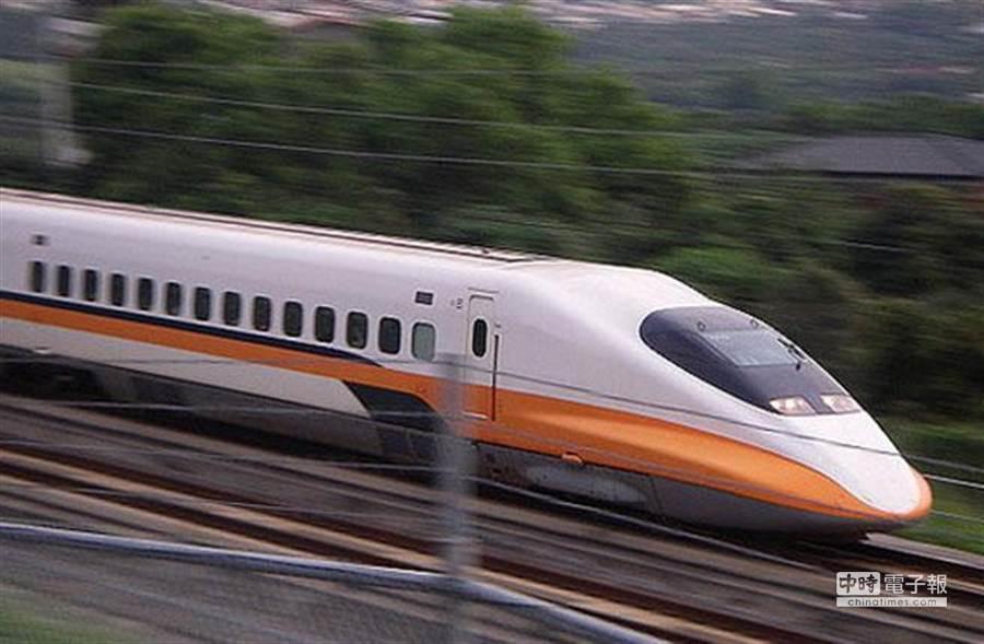 圖為高鐵。 (資料照)