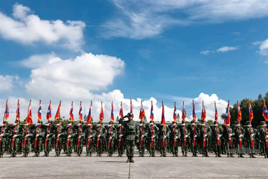 陸軍裝甲586旅,成為國軍第一個「聯合兵種營」編裝部隊。軍聞社提供