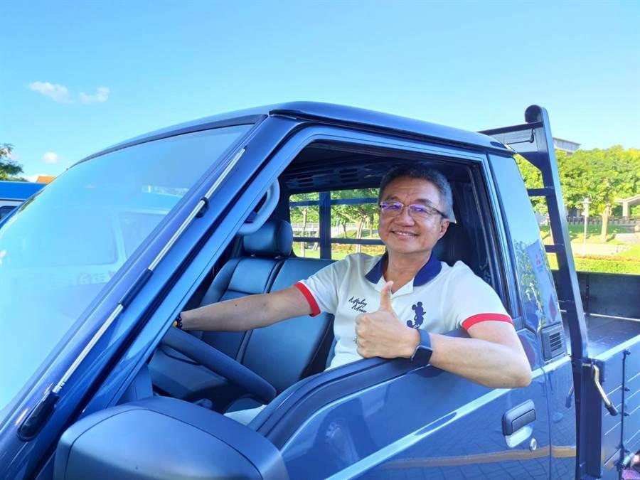 中華汽車總經理陳昭文。(黃琮淵攝)