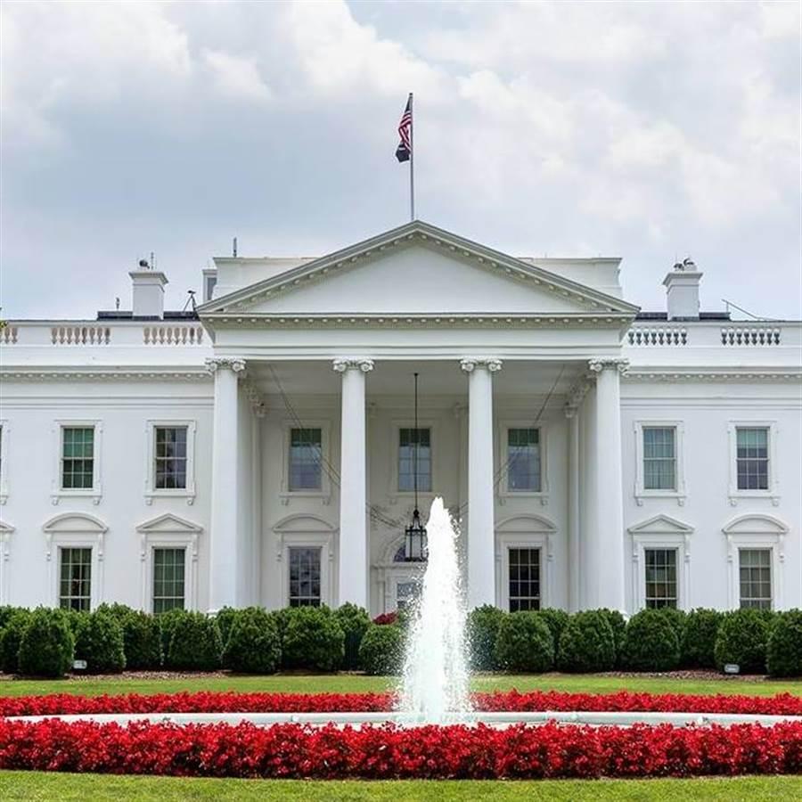 美國白宮。(取自臉書)