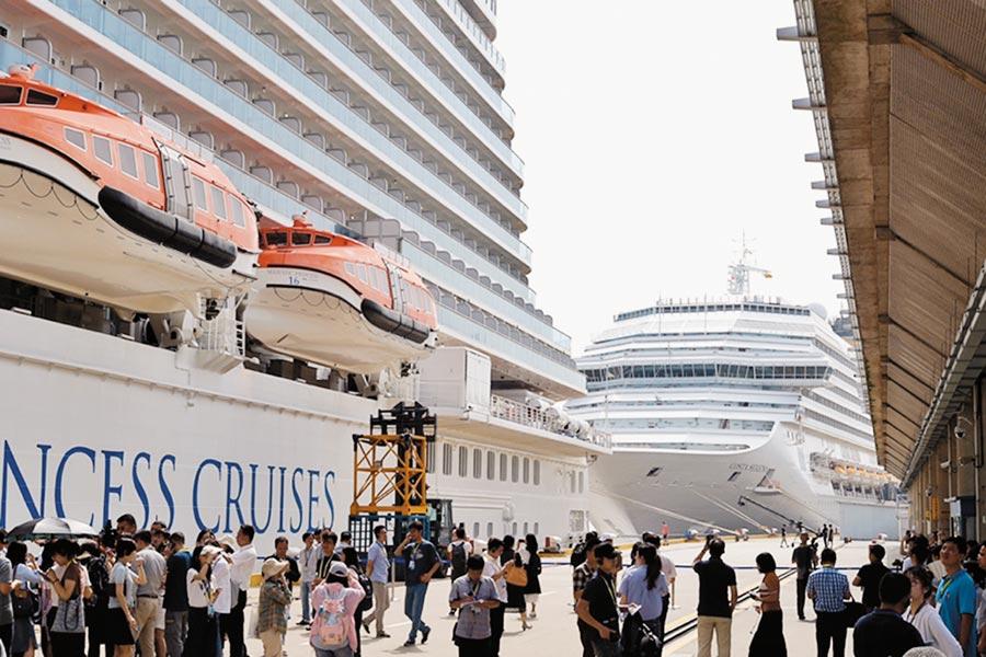 上海吳淞口國際郵輪港已是亞洲第一郵輪母港。(中新社資料照片)