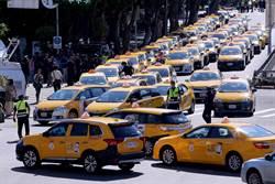 交通部延緩Uber條款執法 小黃不滿路過包圍行政院