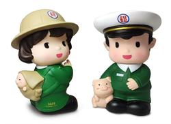 中華郵政16日開賣2019年郵政寶寶撲滿組合包