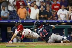 MLB》勇士新星美技落漆 反讓對手場內全壘打