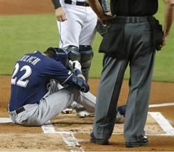 MLB》停在44轟 葉利奇右膝骨折本季報銷