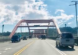 民代批關渡大橋成「關XX橋」 公路總局:2個月後補上