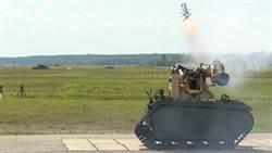 北約戰鬥機器人成功發射標槍飛彈