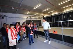 盧秀燕訪荷蘭創新體育館借鏡綠能概念