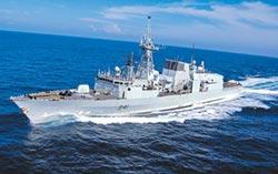 加拿大護衛艦穿台海南下