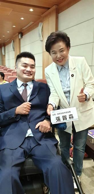 「台中囝仔」張賀森當選十大青年楷模 沈智慧推薦
