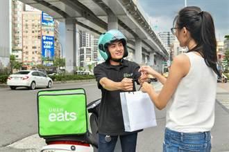 外送市場火熱 Uber Eats台灣活躍用戶、趟次皆成長三倍
