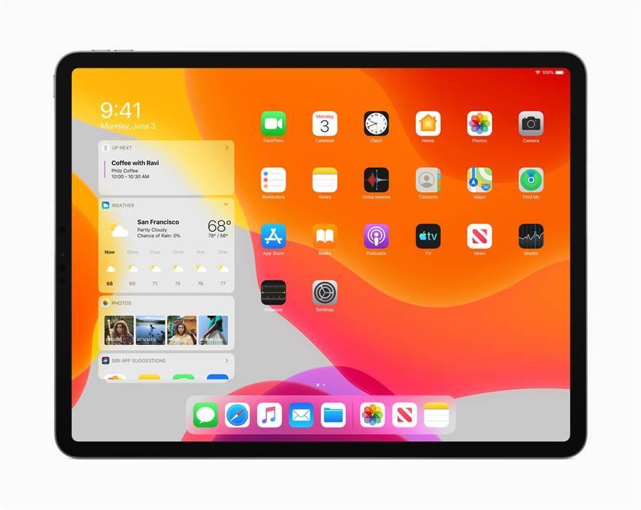 蘋果今年針對 iPad 推出專屬系統「iPadOS」。(摘自蘋果官網)