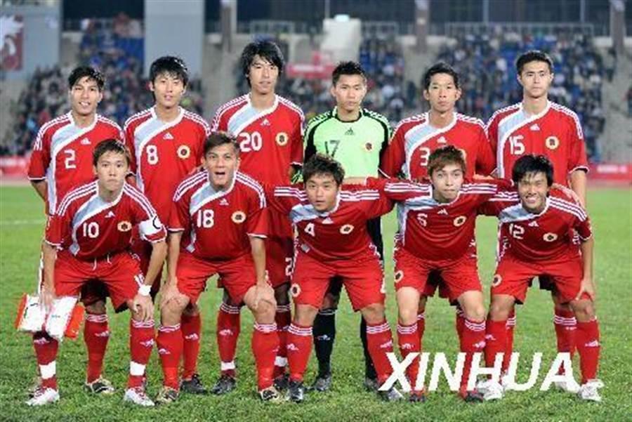 香港足球隊檔案照片。(新華網)