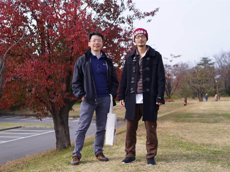 成大物理系陳岳男(左)、陳宏斌(右)為開放性量子系統理論闢新徑。(成功大學提供,曹婷婷台南傳真)
