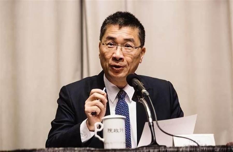 圖為內政部長徐國勇。(資料照,姚志平攝)