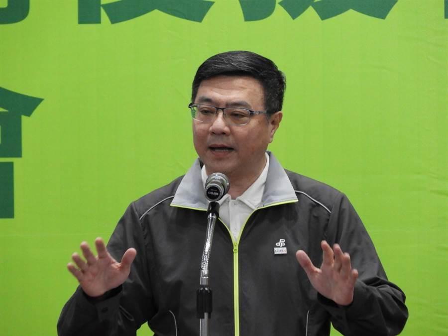 黃國昌也要選總統?卓榮泰:台灣幸福的地方。照片:本報資料照