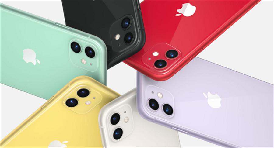 iPhone 11被視為iPhone XR接班人,推六色供消費者選擇。(圖/截自蘋果官網)