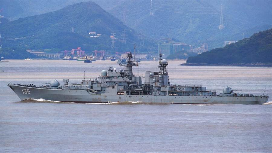 從俄羅斯引進的「杭州」艦(見圖)據稱已完成魔改,加裝了兩款垂發系統,而其中一款垂發賦予它新戰力,可能連055萬噸驅逐艦都望塵莫及。(網路)