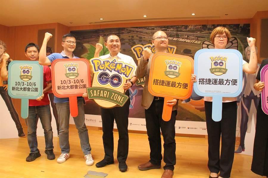 新北市長侯友宜今天出席活動起跑記者會。(資料照片)