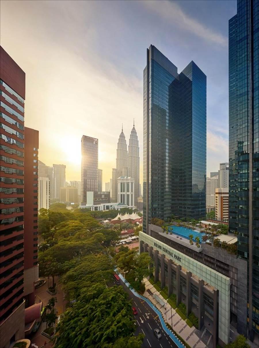 吉隆坡麗思卡爾頓高級公寓。