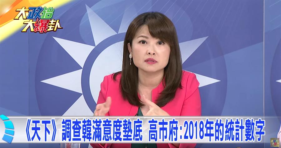 《大政治大爆卦》《天下》調查韓滿意度墊底 高市府:2018年的統計數字