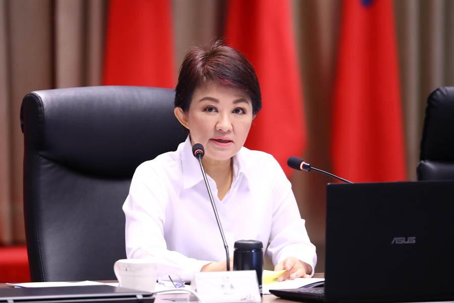 台中市長盧秀燕上任以來首波小內閣人事異動,重新打造燕子團隊陣容。(盧金足攝)
