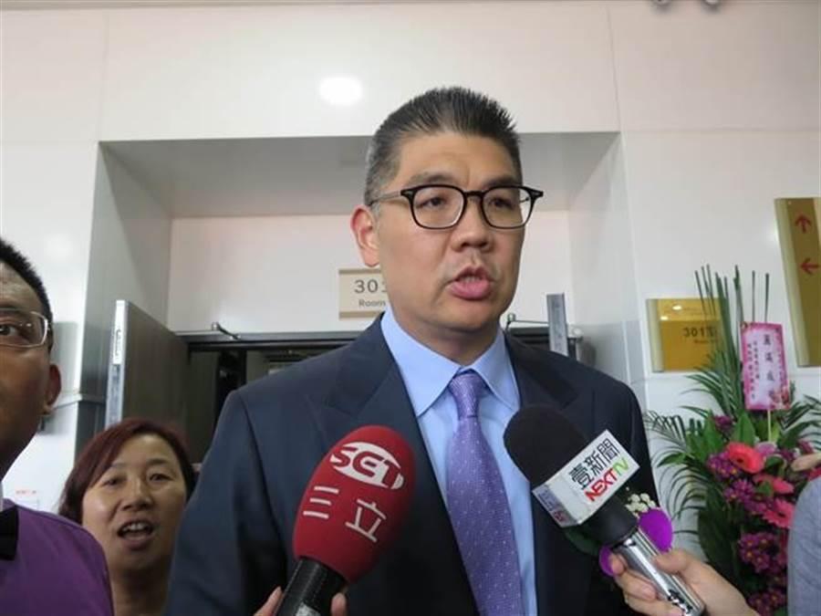 連勝文受訪時,表示韓國瑜講話可以斯文一點 (圖/本報資料照)