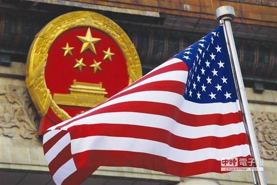 陸美貿易戰延燒,全球被迫分成兩大勢力?(圖/美聯社)