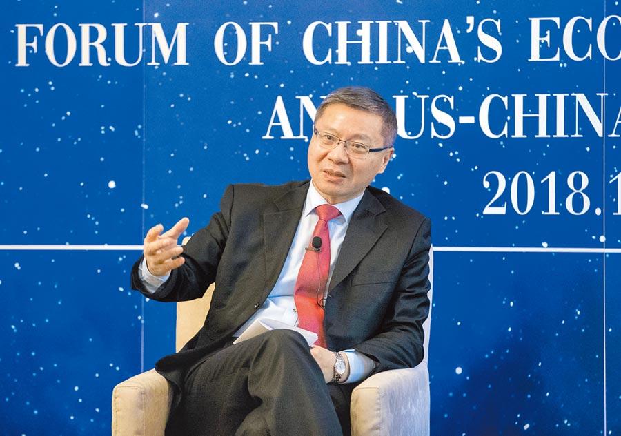 復旦大學中國研究院院長張維為。(新華社資料照片)