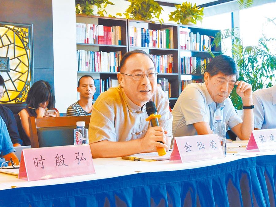 中國人民大學國際關係學院副院長金燦榮。(本報資料照片)