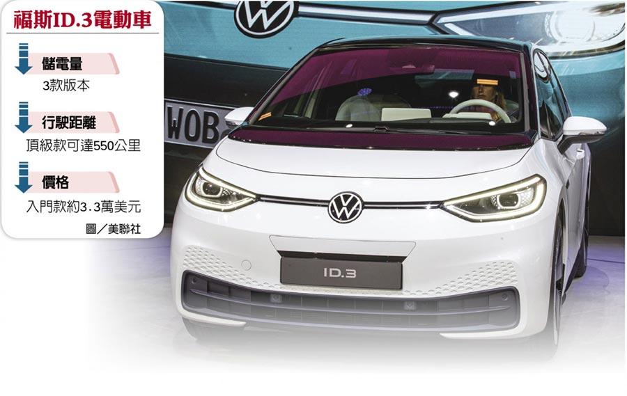 福斯ID.3電動車