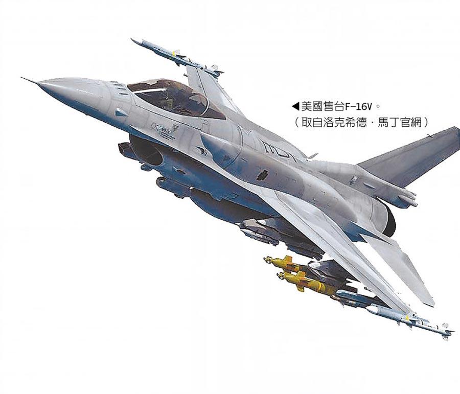 美國售台F-16V。(取自洛克希德.馬丁官網)
