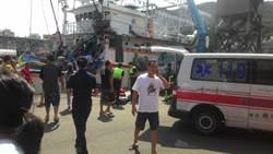 萬里漁船失火 2漁工一命危一輕傷送醫