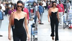 缺席時裝週照吸睛!Kendall Jenner不科學腰身狂逼路人回頭