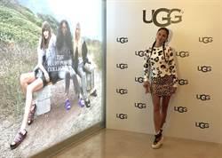 王麗雅穿UGG秀美腿 「高度不嫌多」不怕另一半比較矮