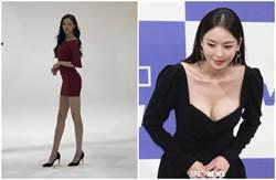 「膚白貌美腿又長」韓女星神級零修圖照爆紅網路