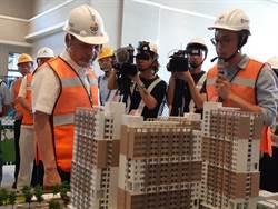 侯友宜:2023年全市社會住宅要達成1萬戶