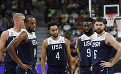 世界盃》首節拿隊史新低7分 美國又輸了