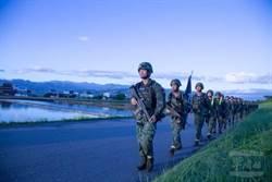 陸軍特戰部隊21天「戰術行軍訓練」 今走到宜蘭