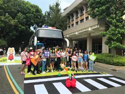 降低年輕族群交通事故發生率,中市交通局校園宣導