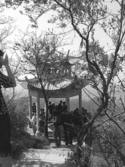 杭州爬山 傳遞微笑(下)