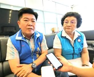 韓14日鐵人行程 中市藍營:展現重視基層誠意