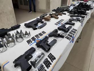 警圍捕「行動軍火庫」駁火逾百發子彈