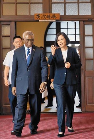 總理表態 台對索國毫無用處