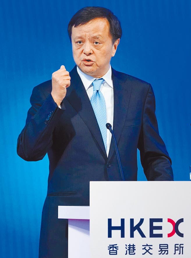 港交所行政總裁李小加。(中新社資料照片)