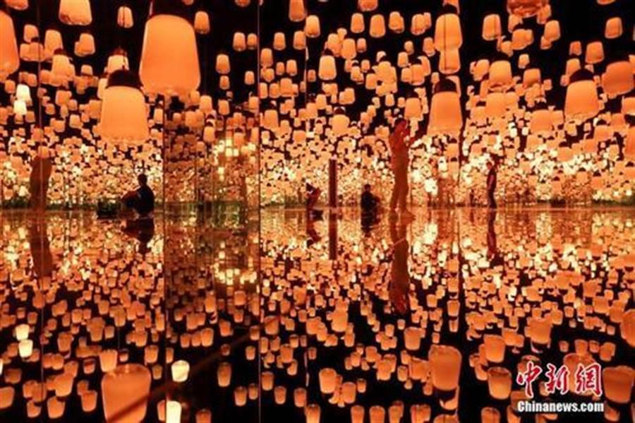 全球第二座無界美術館落戶上海 打造數位藝術之美(照片取自中新網)
