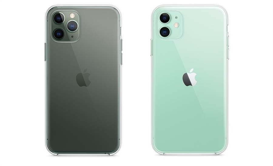 蘋果官方今年針對 iPhone 11 全系列都提供了透明保護殼的官方周邊,能完整展現 iPhone 11 系列的機身顏色。(摘自蘋果官網)